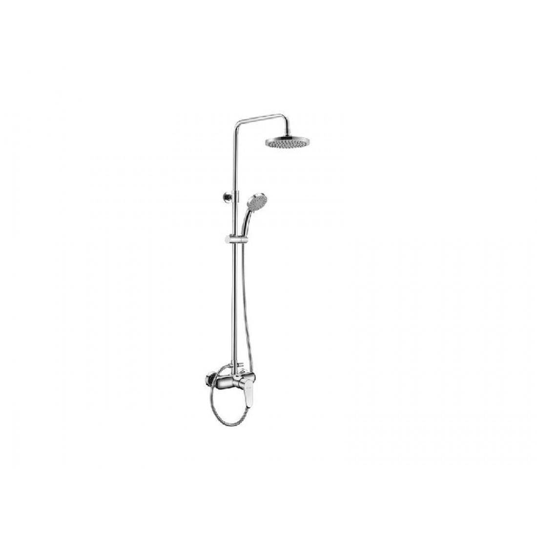 Karag Praxis ZOE 7938B Faucet Fixed Shower Chrome Zoe